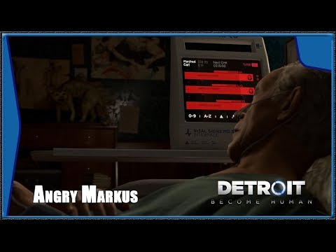 Detroit: Become Human - ANGRY Markus returns home, CARL dies (HD) (1080p)