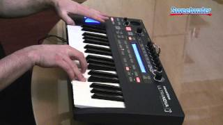 Novation UltraNova Synthesizer Demo - Sweetwater Sound