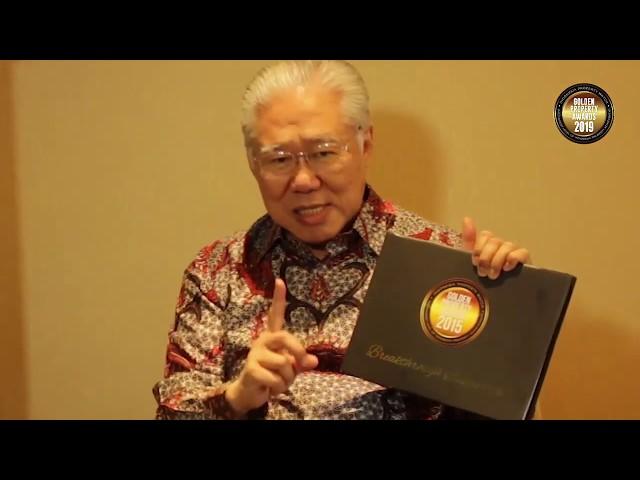 Testimoni para tokoh tentang Golden Property Awards Drs.  Enggartiasto Lukita