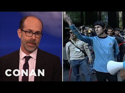 """Brian Huskey On His """"Late Night"""" Past  - CONAN on TBS"""