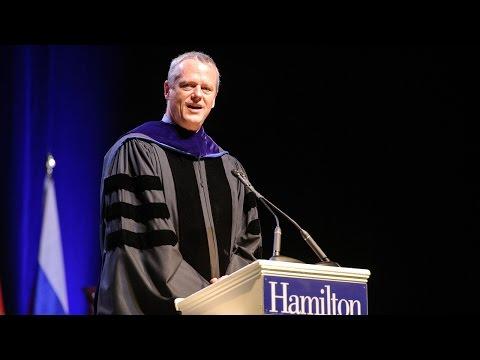 Gov. Charlie Baker Speaks at Hamilton College