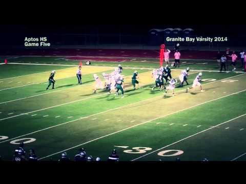 2014 Granite Bay Grizzly Football: Game 5 vs Aptos Mariners, October 3