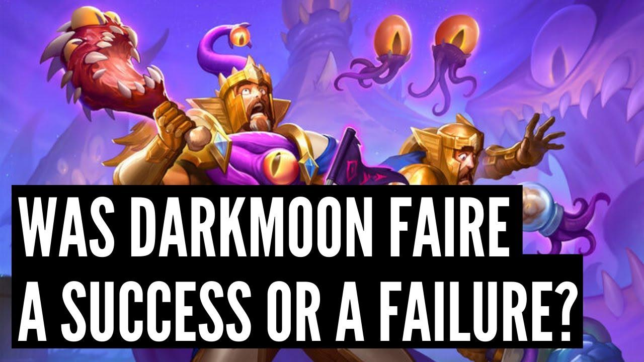 Was Darkmoon Faire a SUCCESS or a FAILURE? An honest review | Darkmoon Races | Hearthstone