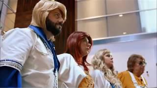 """Ограбление банка """"Бородино"""" с группой АBBA.Смешной отрывок из фильма"""