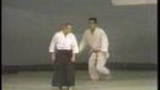 養神館合気道、aikido Shioda Gozo demonstration part1 1978-1981
