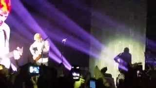 Ed Sheeran - Runaway/Rock your body/Baby one more time - LIVE @Alcatraz, Milano (20/11/2014)