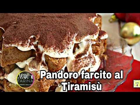 PANDORO FARCITO AL TIRAMISÙ