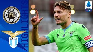 A second half strike from spezia's nzola halved the deficit, but goals immobile and milinkovic-savic claimed 3 points for lazio | serie timthis is...