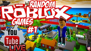 Having fun and playing with ROBLOX fans