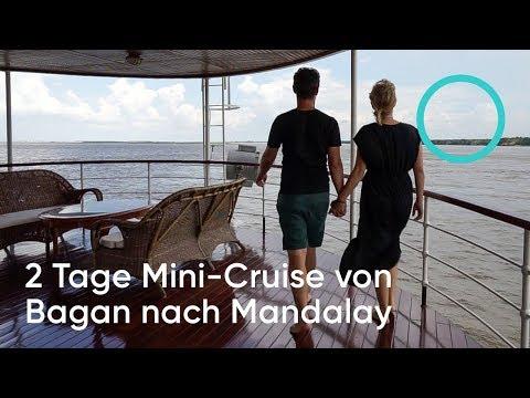 VLOG #19 - 2 Tage Mini-Cruise von Bagan nach Mandalay / Follow us around Myanmar