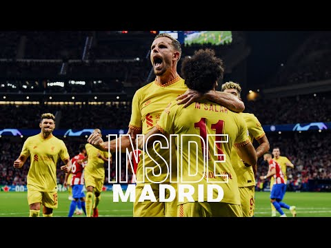 Inside Madrid: Atletico 2-3 Liverpool | Incredible scenes from dramatic Champions League win