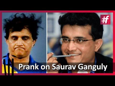 #fame cricket - Prank on Saurav Ganguly :Harsha Bhogle's Funny Memoirs