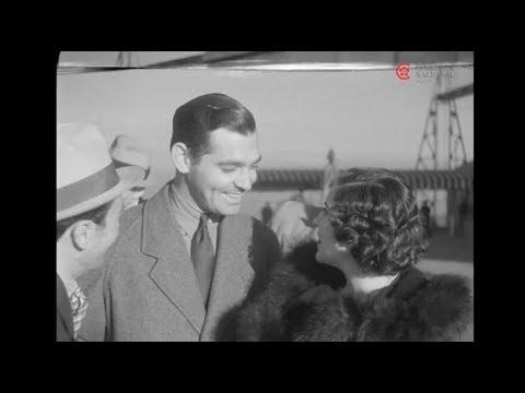 Visita de Clark Gable a Mexico