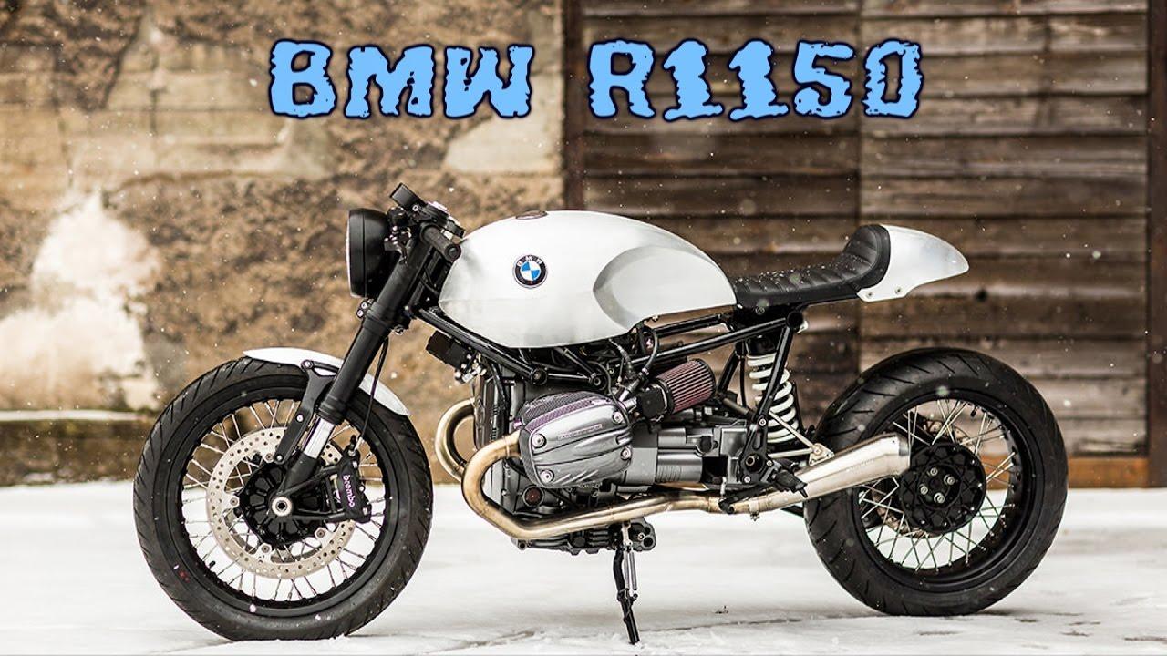 bmw r1150 cafe racer - youtube
