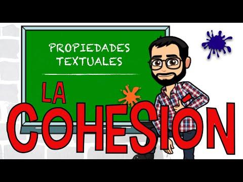 EL TEXTO: Cohesión