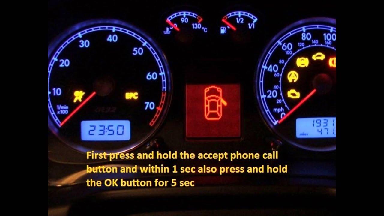 pontiac aztek 2001 2005 how to reset service light indicator [ 1280 x 720 Pixel ]