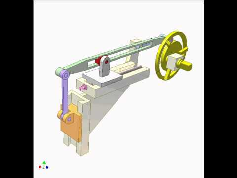 Watch together with Camfollower ani additionally Whitworth 47480083 besides Chpt5 further Slider Crank Mechanism 8. on slider crank mechanism