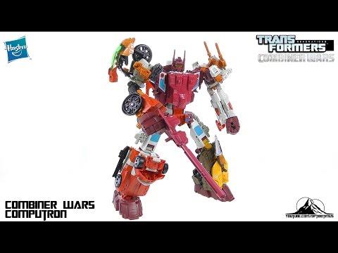 Transformers Combiner Wars COMPUTRON Video Review