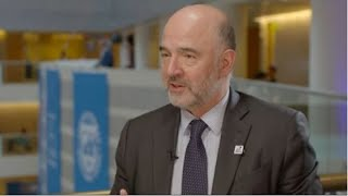 EU's Moscovici: No-deal Brexit is not a good option   Street Signs Europe