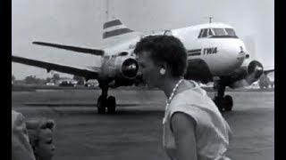 "TWA Martin 404 - ""Gate Arrival Indianapolis"" - 1960"