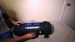 BLAUPUNKT Earthquake audio system unboxing