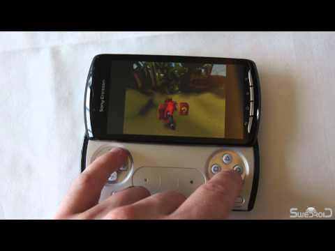 Sony Ericsson Xperia Play hands on -  Copenhagen press conference mars 2011