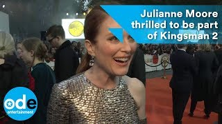 Kingsman 2: Julianne Moore thrilled to be part of the movie
