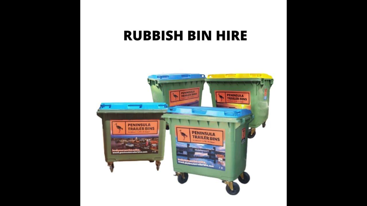 Rubbish bin hire Adelaide