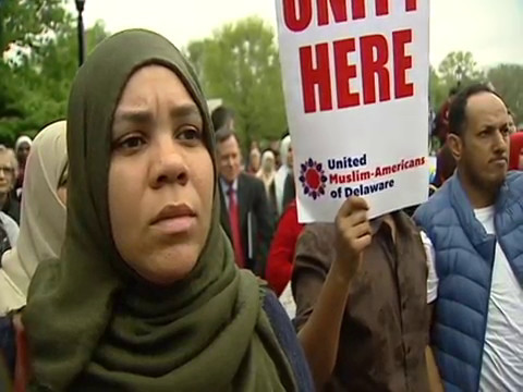 """delaware muslim Naveed baqir, the executive director of the delaware council on global and muslim affairs, told kiro 7 that this was a clear act of discrimination """"i'm surprised this happened in the city of wilmington that is supposed to be more progressive and accepting."""