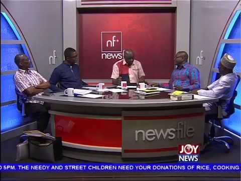 Ghana Gas Brouhaha - Newsfile on JoyNews (27-5-17)