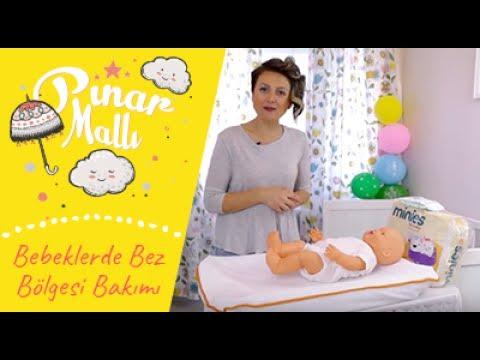 Pınar Mallı Anlatıyor: Bebeklerde Bez Bölgesi Bakımı