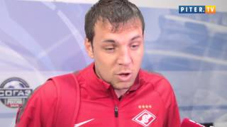 Зенит - Спартак: Дзюба назвал Виллаш-Боаша красавцем