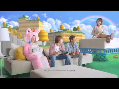 Super Mario 3D World - Play Together TV Commercial (Wii U)