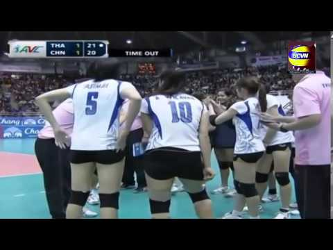 2013 Asian Women Volleyball Championship[Semifinal]:Thailand Vs China