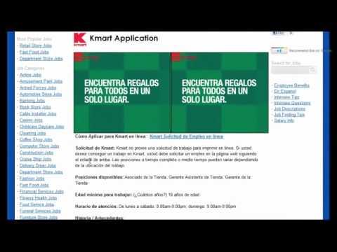kmart job application online hawaii