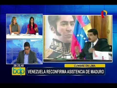 Cumbre de las Américas: Venezuela reconfirma asistencia de Nicolás Maduro