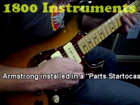 blues licks on p 90 pickups by kent armstrong youtube. Black Bedroom Furniture Sets. Home Design Ideas