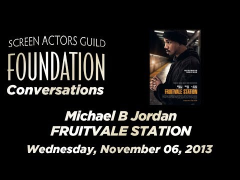 Conversations with Michael B. Jordan of FRUITVALE STATION