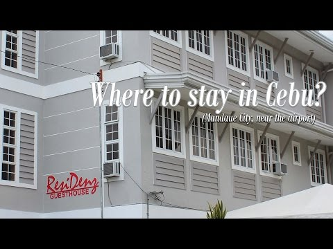 Cebu Vlog 2016: Residenz Guesthouse | Where to stay in Cebu? (Mandaue City)