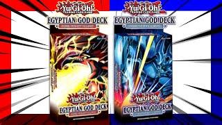 Yu-Gi-Oh! Egyptian God Deck Slifer & Obelisk Reveal Opening
