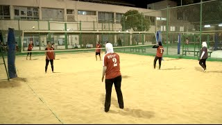 Egyptian Women's Beach Volleyball Team Preparing for Rio