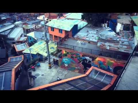 Escaleras El Ctricas En La Comuna 13 Medell N Youtube