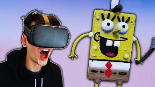 I SCULPTED SPONGEBOB IN VR! (SculptrVR)