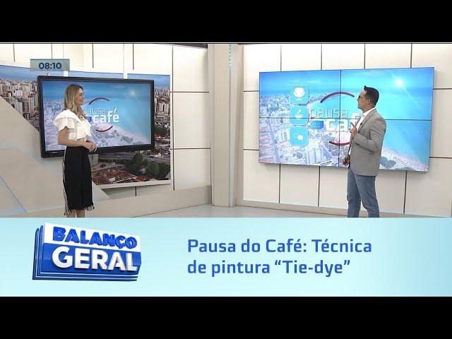 """Pausa do Café: Técnica de pintura """"Tie-dye"""" é tendência para o verão"""