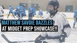 Matthew Savoie DAZZLES At Midget Prep Showcase!!!