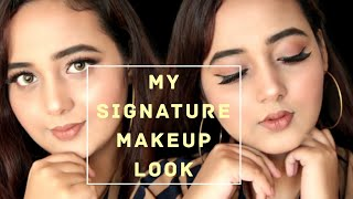 MY SIGNATURE MAKEUP LOOK | RUHI SYED
