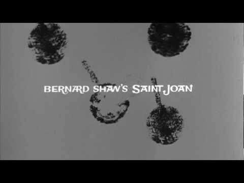 Saul Bass title sequence - Saint Joan (1957)