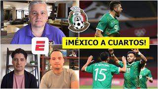 ANÁLISIS México venció a Sudáfrica y está en cuartos de los Juegos Olímpicos Tokio 2020