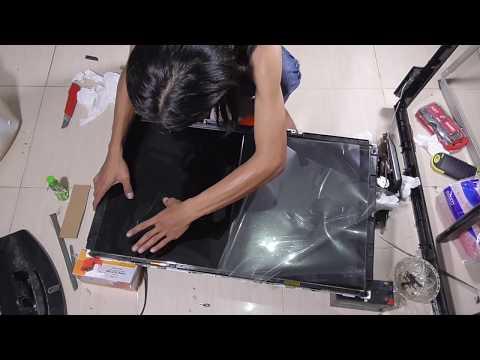 LCD TV Kamu retak-retak ? Jangan Panik ! Lihat Video ini !!!