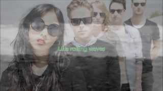 The naked and famous - Rolling waves (No audio) (Lyrics) (Letra)